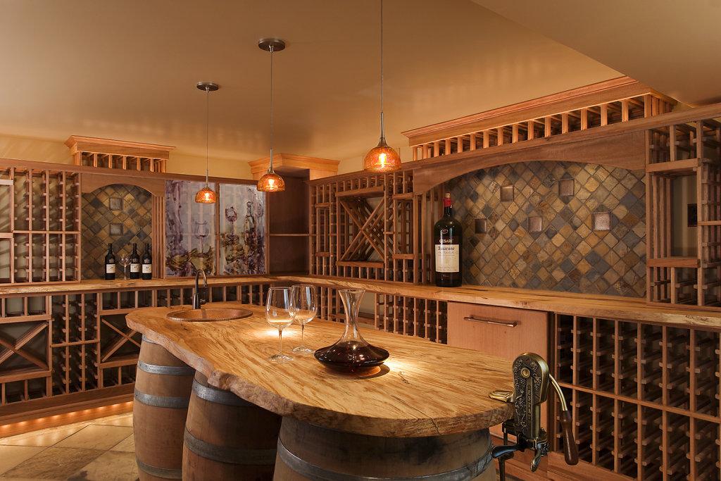 wine cellar - door panels